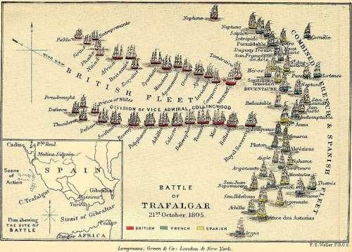 Batalla de Trafalgar - 21 de octubre 1805