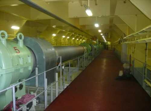 Tunel del eje, unos 120 metros