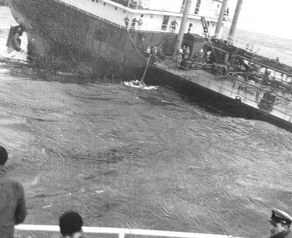 Popa del SS Pendleton